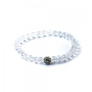 Crystal Quartz White Bracelet