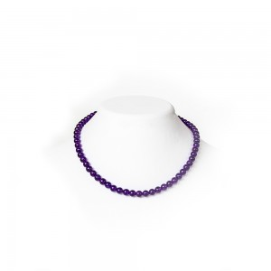 Violet Amethyst Necklace